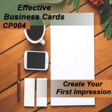 Creating Effective Business Cards (Before the Event)